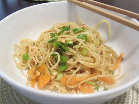 Spicy Asian Noodles | Food worth eating! | Pinterest