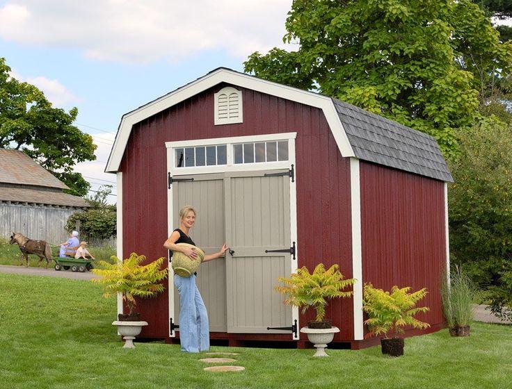 Amish Colonial Woodbury Shed Panelized Kit