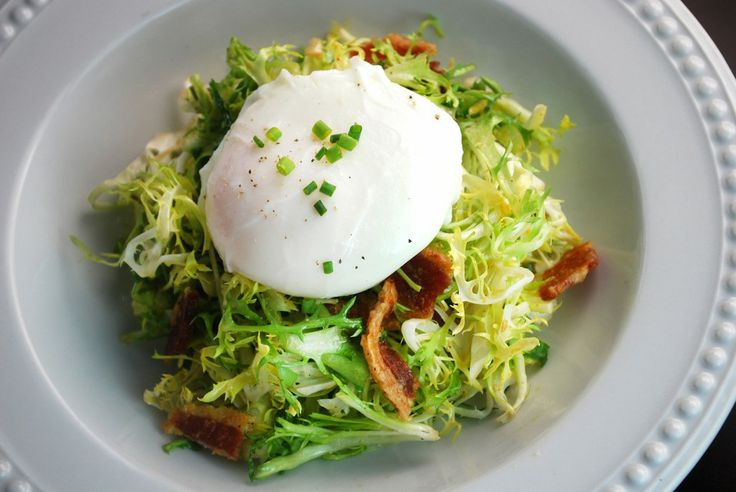 ... poached egg that feels elegant and luxurious, which elevates a simple