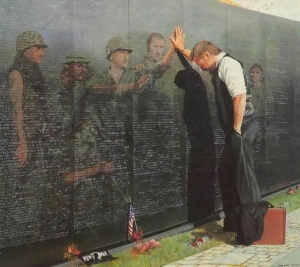 Vietnam Vets Memorial Wall