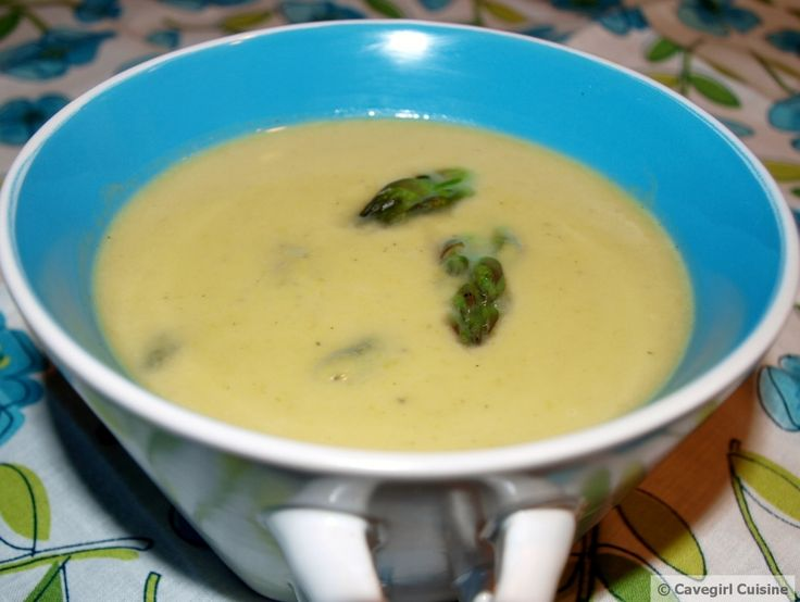Creamy Asparagus Soup #paleo | Recipes | Pinterest