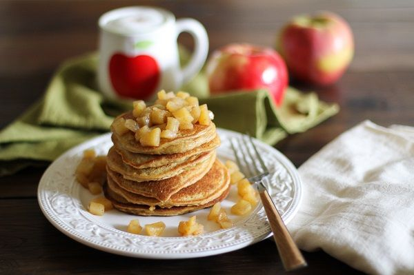 ... apple cinnamon pancakes coconut milk coconut oil and coconut flour