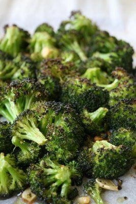 Broccoli with Garlic (and variations: add lemon juice, almonds, pine ...