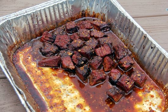 ... burnt ends have become for me. Burnt Ends are born from the point of a