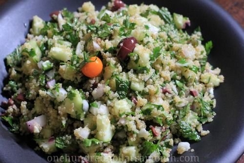 Easy Summer Recipes – Quinoa Salad with Cucumbers and Mint - One ...