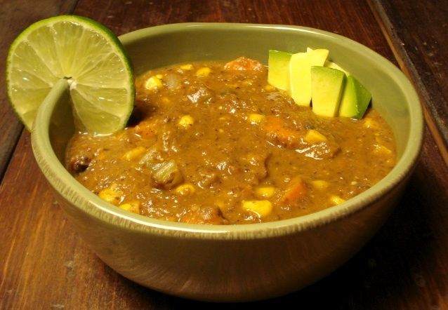 Chipotle Corn & Black Bean Soup | yummy | Pinterest