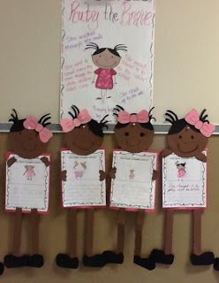 Ruby Bridges Lapbook and writing craftivity....Great unit for Black History Month $