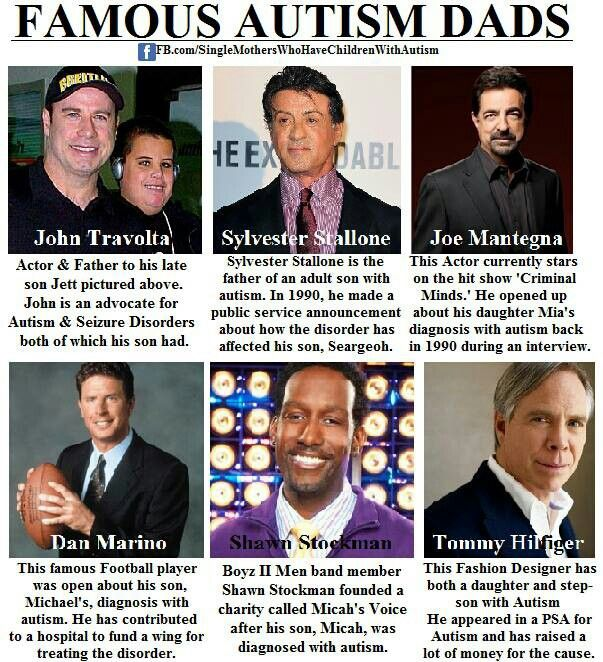 11 Famous People With Autism Celebrities with Autistic Family - successful person with autism