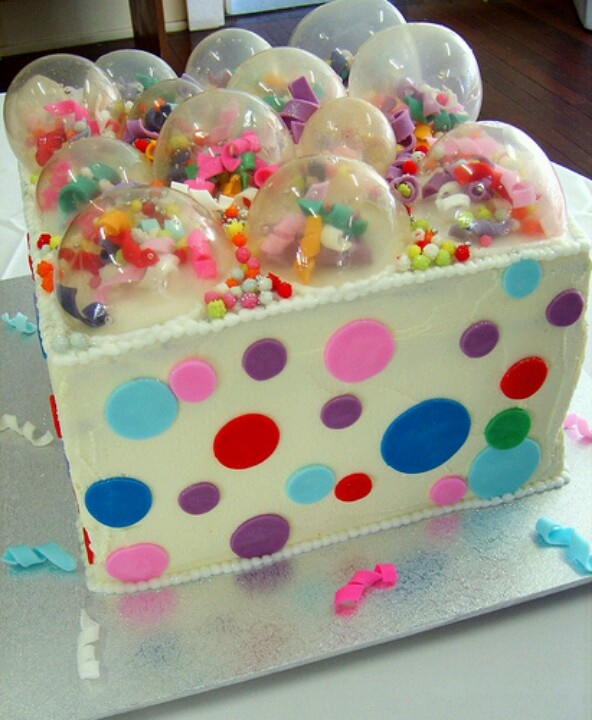 Bubble cake | Cake ideas | Pinterest