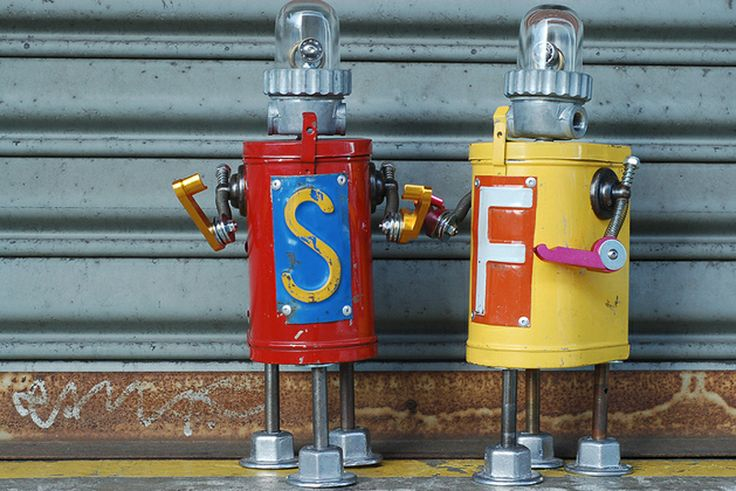 robot_reciclado_1 | Robots | Pinterest