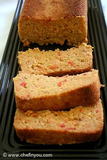 Vegetarian meat Loaf (lentils and beans) Recipe