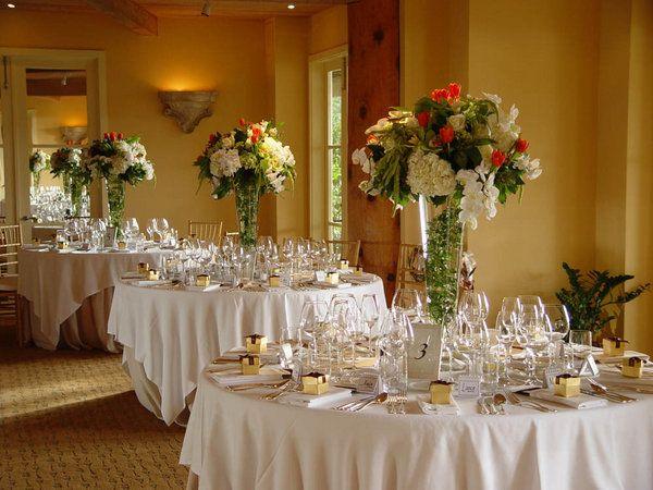 Elegant Wedding Decorations Pictures : Elegant wedding decoration unique centerpieces