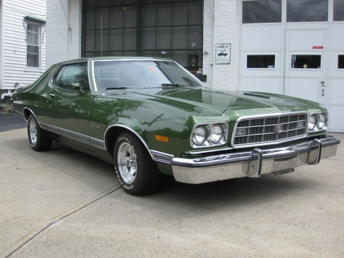 hemmings find of the day 1973 ford gran torino sport. Black Bedroom Furniture Sets. Home Design Ideas