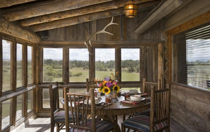 closed in porch home designs