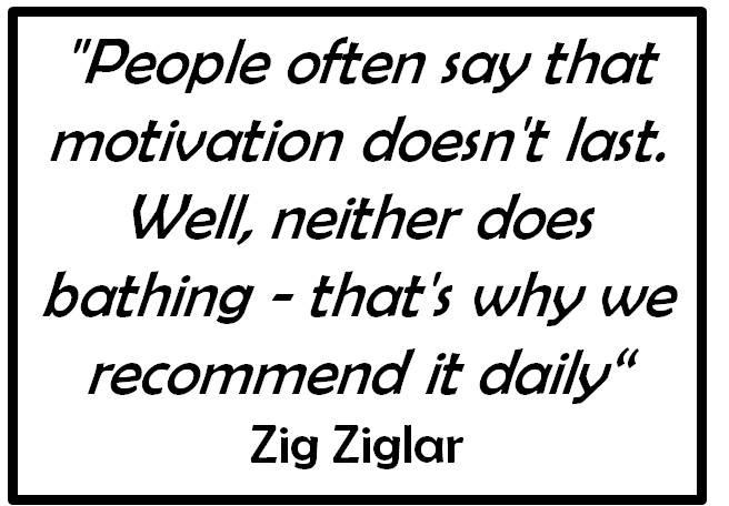 Daily...both bathing and motivation. | Bar Exam Inspiration
