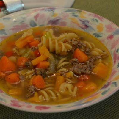 Sweet Potato and Sausage Soup | Soup's On! | Pinterest