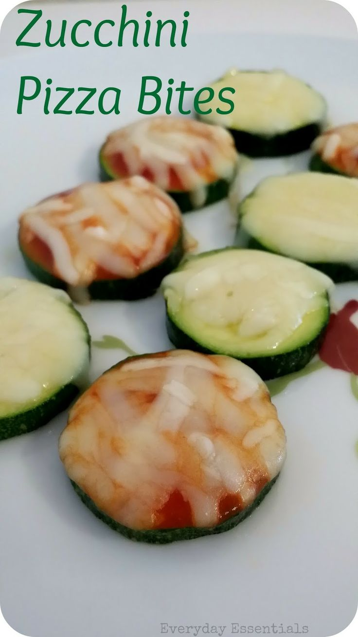 Zucchini Pizza Bites Recipe — Dishmaps