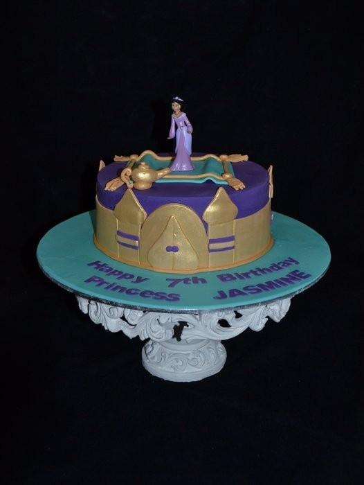 Princess Jasmine cake cakes Pinterest