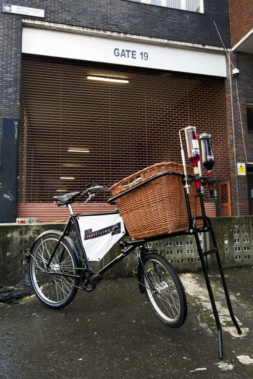 Introducing The Travelling Gin Co.'s new Negroni Bicycle. Hitting the ...