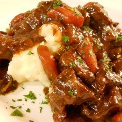 Beer Braised Stew and Colcannon | Recipe
