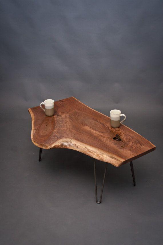 unique shaped black walnut coffee table furniture With unique shaped coffee tables