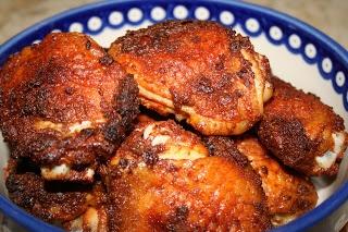 Smoked Paprika Chicken Thighs | Paleo Dinners | Pinterest