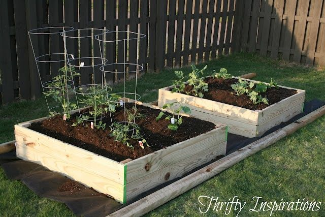 easy build your own 4x4 raised beds do it yourself ideas