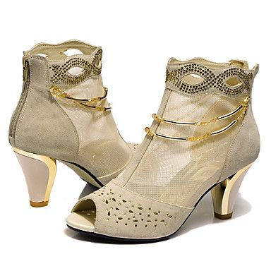 Crystal Lace Net High Heel Shoes - Shipping FREE. on DealsAlbum.com
