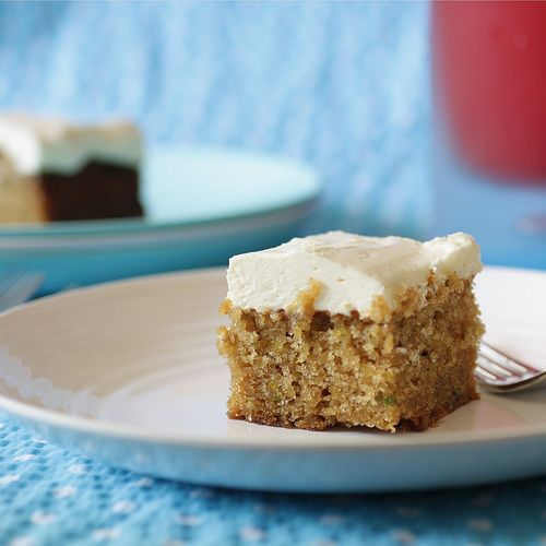 zucchini cake with cream cheese frosting | Future foods | Pinterest