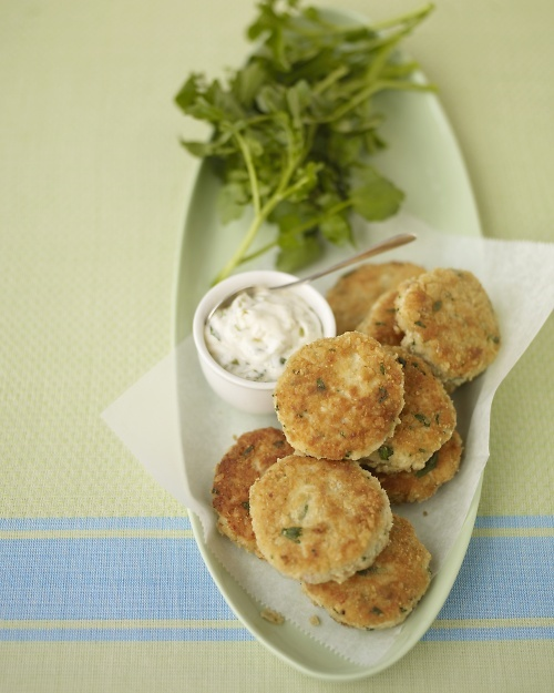 Lemon-Horseradish Fish Cakes Once assembled, these can be flash frozen ...