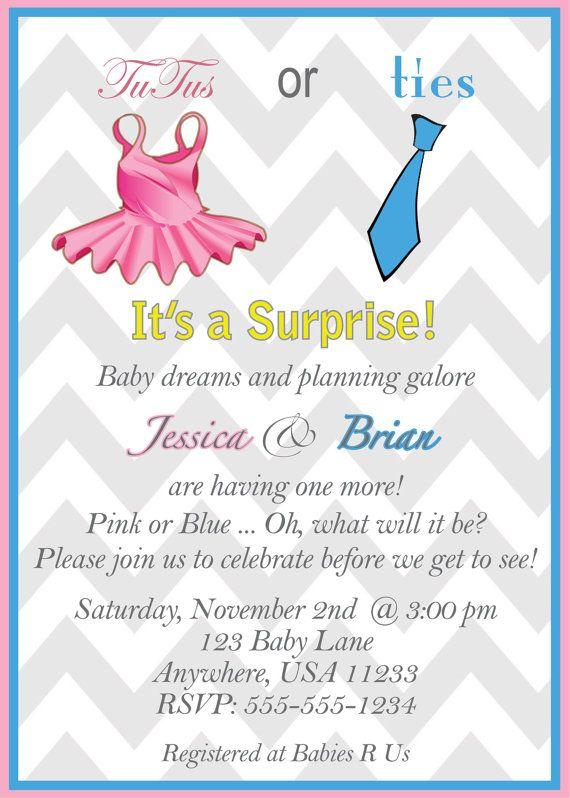 gender neutral baby shower invitation digital file by jpixels