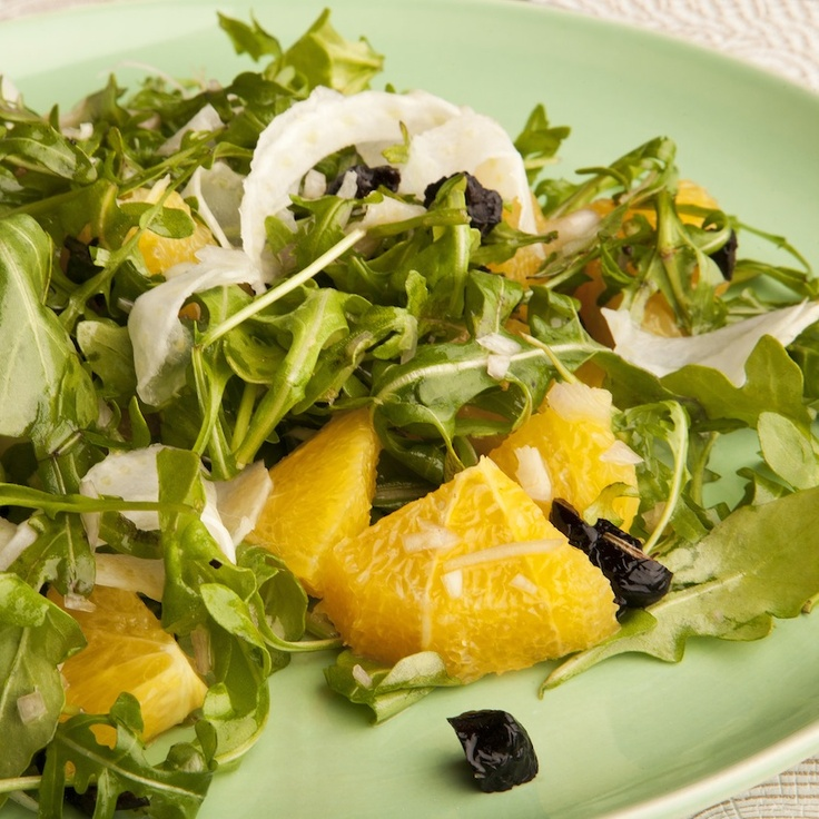 Arugula, Orange, Fennel & Olive Salad | Favorite Vegetable Dishes | P ...