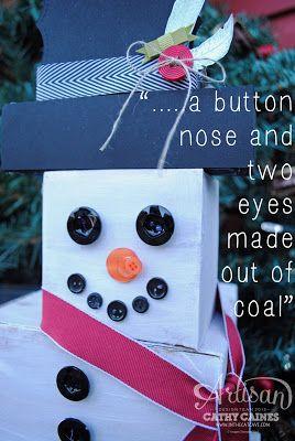 Fun Kraft Box Snowman
