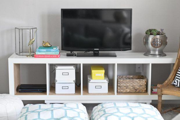 Aufbewahrung Ikea Gebraucht ~ ikea kallax tv stand