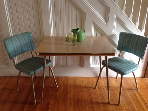 Reduced Mint Mid Century Modern Cool Vintage Retro Kitchen Table And