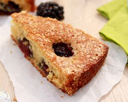 Buttermilk Cake with Blackberries - so delicious and moist! Made with ...
