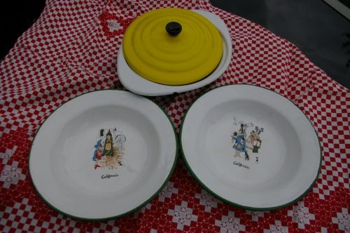 Handdoekenrekje Keuken : Emaille bordjes. Moeders keuken. Pinterest