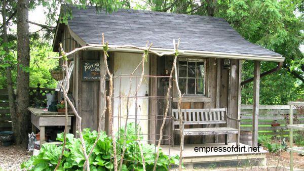 Rustic Backyard Sheds : Rustic garden shed Gallery of Garden Sheds