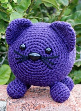 """Roly Poly Kitty Crochet Amigurumi"" #Amigurumi  #crochet"