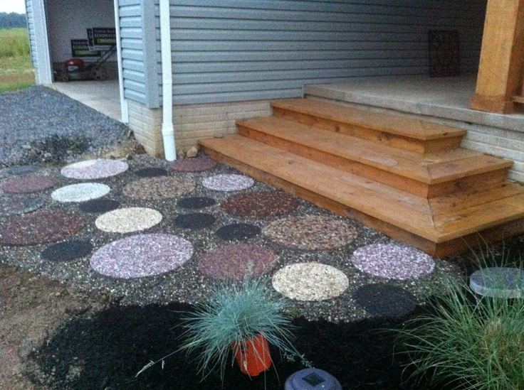 Round paver patio outdoor pinterest for Pinterest patio pavers