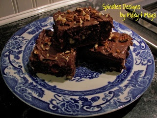 Pecan Fudge Brownies on MyRecipeMagic.com