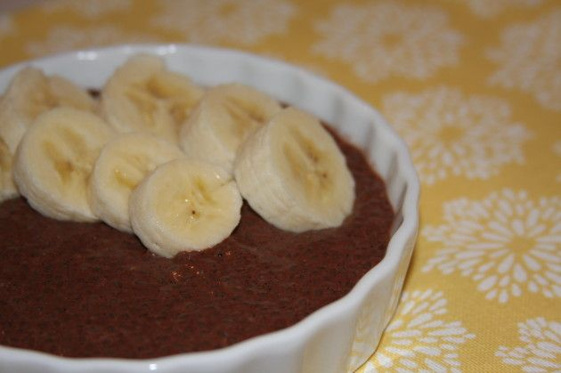 Chocolate Cinnamon Chia Pudding | Sweet Treats | Pinterest