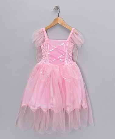 Take a look at this Pink Winged Fairy Dress - Toddler & Girls by Princess Expressions on #zulily today!