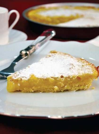 ... Greek recipes cooked again and again: Greek lemon pie with pine nuts