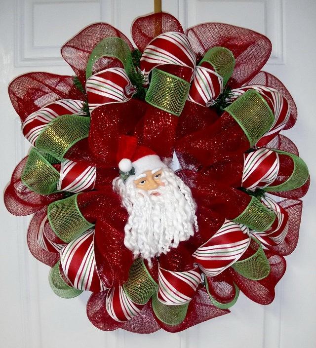 Beautiful christmas wreath christmas pinterest Beautiful christmas wreaths