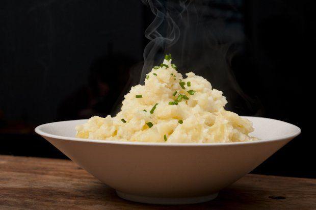 easiest mashed potatoes. food republic. | food | Pinterest