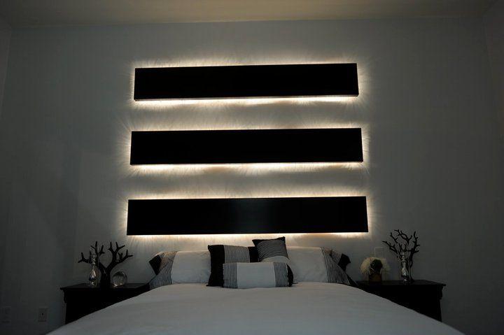 Lights Above Bed Light Shows Pinterest