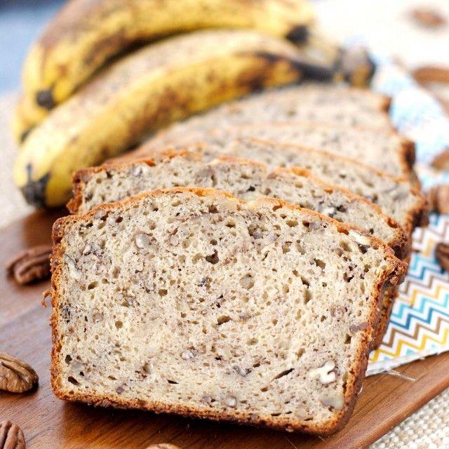 Sour Cream Cinnamon Banana Bread | Desserts, Breads & General Naughty ...