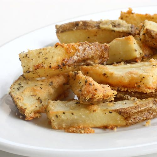 Parmesan Potato Wedges | Recipe