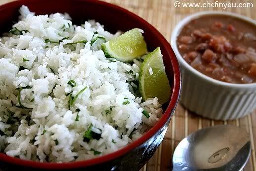 Chipotle style Cilantro Lime Rice Recipe | Recipe | Pinterest